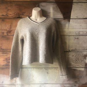 Vintage 100% Shetland Wool Sweater Size Medium